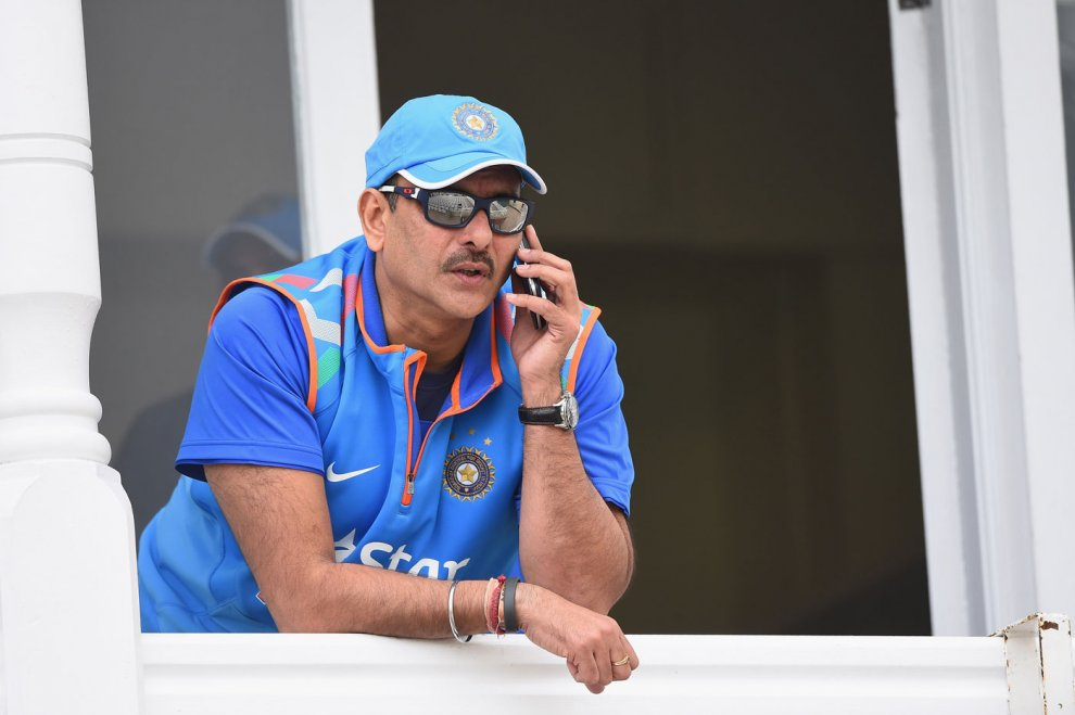 ravi shastri new indian team coach