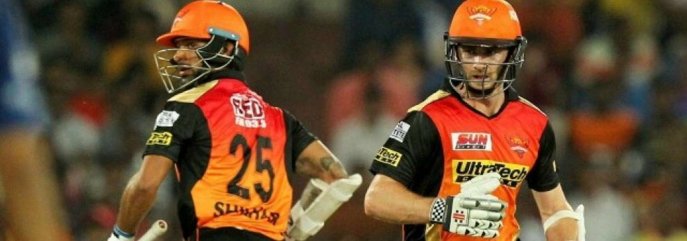 williamson-dhawan ipl