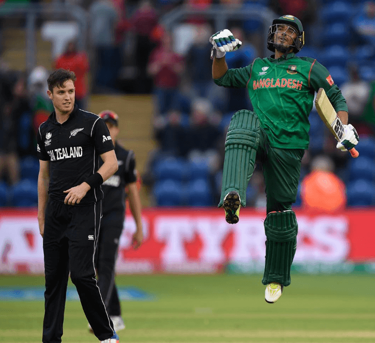Champions Trophy 2017 - Bangladesh win against New Zealand